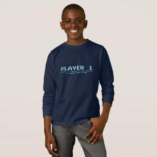 Player 1 Kids' Basic Long Sleeve T-Shirt