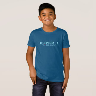 Player 1 Organic T-Shirt, Natural T-Shirt