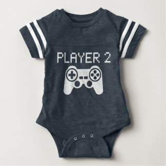 Player 2 (Baby) Baby Bodysuit