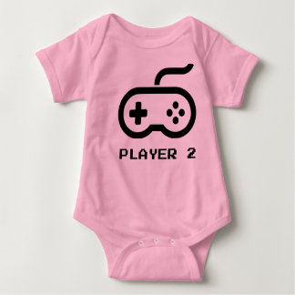 Player 2 - Video Games Baby Bodysuit