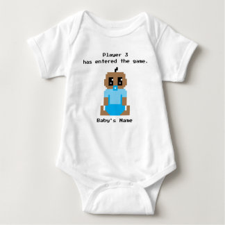 Player 3 Entered The Game Ethnic Baby Boy Shirt