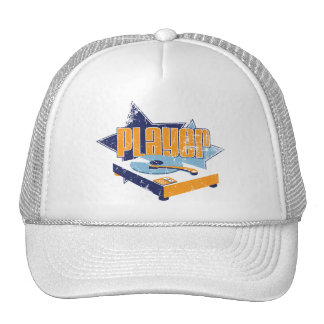 Player Hat (White)