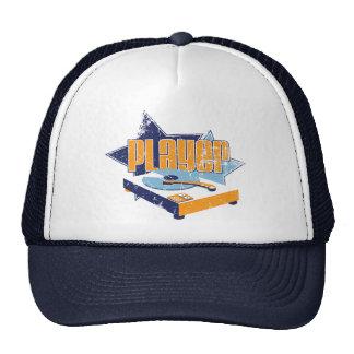 Player Hat (White/Navy