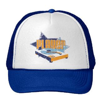 Player Hat (White/Royal)