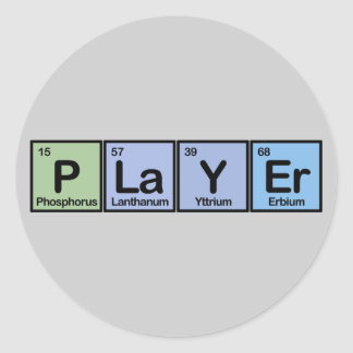 Player made of Elements Stickers