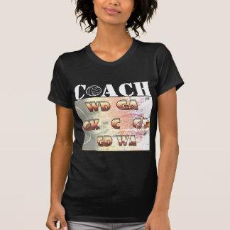 Player Positions and Ball Design Netball Coach T-Shirt