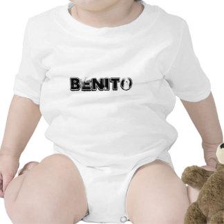 PLAYERA INFANTIL CON NOMBRE BENITO T SHIRTS