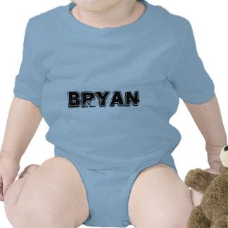 PLAYERA INFANTIL CON NOMBRE BRYAN BABY BODYSUIT