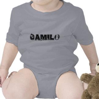 PLAYERA INFANTIL CON NOMBRE CAMILO T SHIRTS