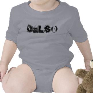 PLAYERA INFANTIL CON NOMBRE CELSO T SHIRT
