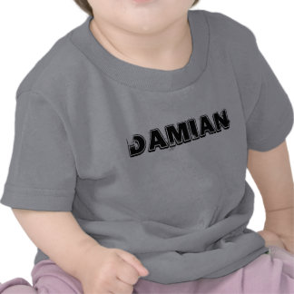 PLAYERA INFANTIL CON NOMBRE DAMIAN T-SHIRT