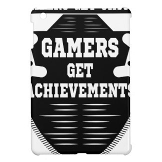 Players get chicks gamers get achivements iPad mini covers