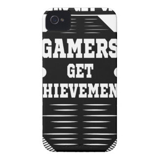 Players get chicks gamers get achivements iPhone 4 Case-Mate case