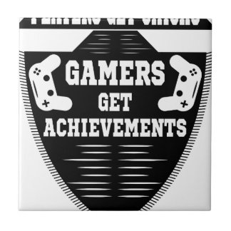Players get chicks gamers get achivements tile