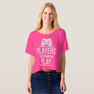Players Gonna Play Xbox Girl T shirt