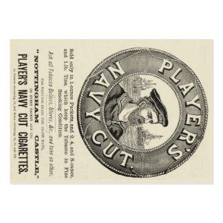 Player's Navy Cut Business Card