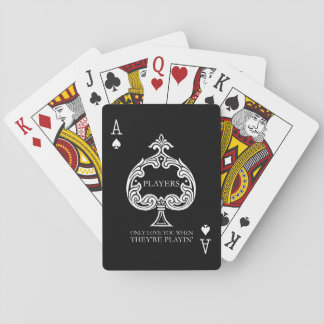 Players Playing Cards