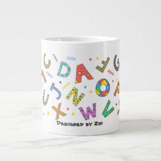 Playful Alphabet Mug