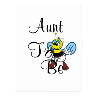 Playful Aunt To Bee Post Card