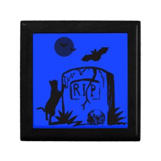 Playful Black Cat Gift Box