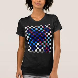 Playful blue design by Moma T-Shirt