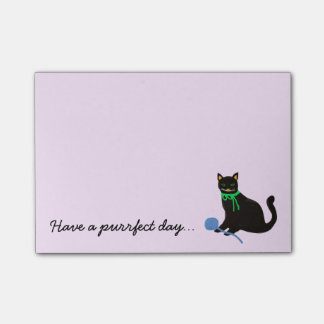 Playful Cat Post-it Notes