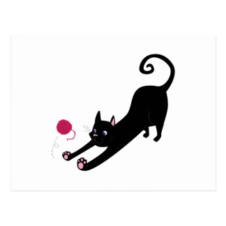 Playful Cat Post Card