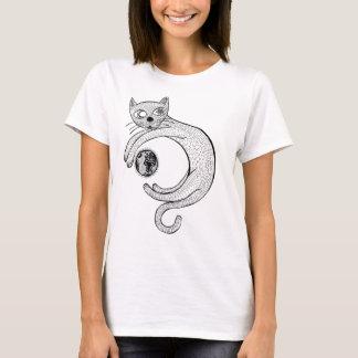 Playful Cat T-Shirt