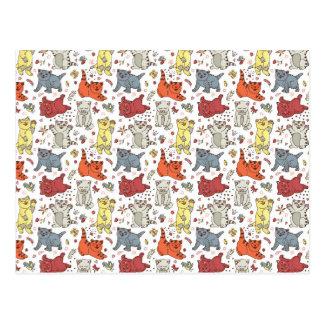 Playful Cats Postcards