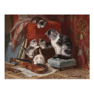 Playful Cats - Ronner Post Card