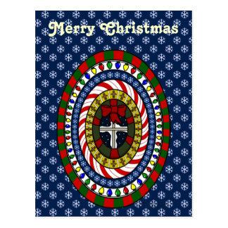 Playful Christmas Postcard