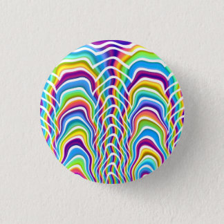 Playful Colors 3 Cm Round Badge
