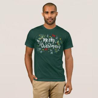 Playful Ditsy Merry Christmas Design | Shirt