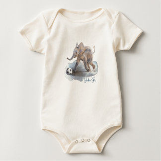 Playful Elephant Organic Bodysuit