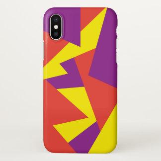 Playful Geometric iPhone X Case