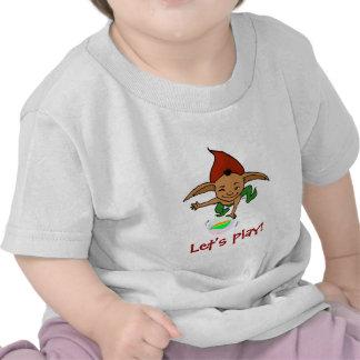 Playful goblin t shirt