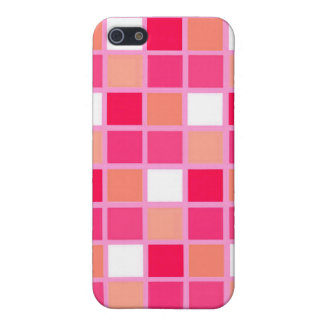 Playful Harlequin Lipstick Color Tiles Cases For iPhone 5