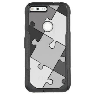 Playful Jigsaw Puzzle Gray OtterBox Commuter Google Pixel XL Case