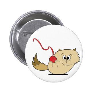Playful Kitten 6 Cm Round Badge
