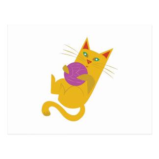 Playful Kitten Postcard