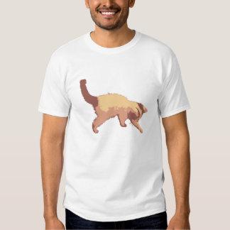 Playful kitten t-shirt