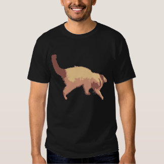 Playful kitten tshirt