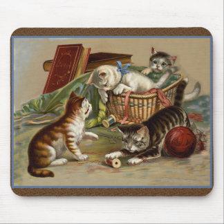 Playful Kittens Mousepad