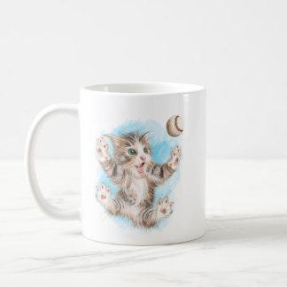 Playful Kitty 11 oz Classic Mug