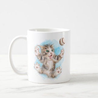 Playful Kitty 11 oz Classic Mug
