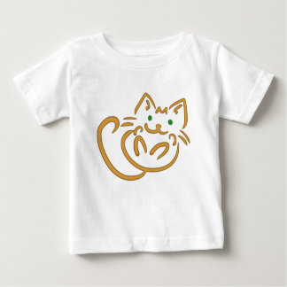 Playful Kitty Baby T-Shirt