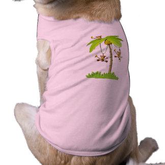 Playful Monkeys Pet t-shirt