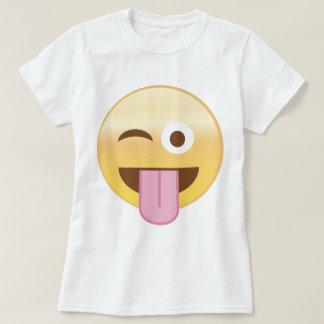 Playful mood emoji T-Shirt