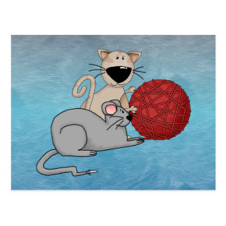 Playful Mouse Postcards
