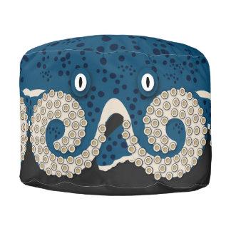 Playful Octopus Pouf